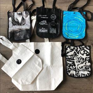 RARE lululemon shopper bags - set of 6
